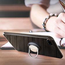 Fingerring Ständer Smartphone Halter Halterung Universal R08 Rot