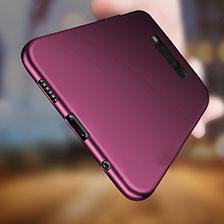 Silikon Hülle Gummi Schutzhülle für Samsung Galaxy S8 Plus Violett