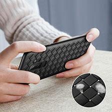 Silikon Hülle Handyhülle Gummi Schutzhülle Köper für Samsung Galaxy S9 Plus Schwarz