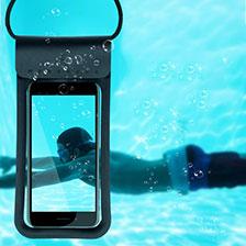 Wasserdicht Unterwasser Schutzhülle Tasche Universal W06 Grün