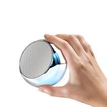 Bluetooth Mini Lautsprecher Wireless Speaker Boxen S03 Silber