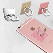 Fingerring Ständer Smartphone Halter Halterung Universal 3PCS Bunt