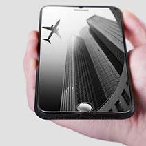 Schutzfolie Displayschutzfolie Panzerfolie Skins zum Aufkleben Gehärtetes Glas Glasfolie F12 für Apple iPhone 7 Plus Klar