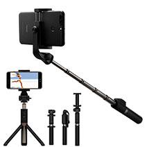 Selfie Stick Stange Bluetooth Teleskop Universal S23 Schwarz