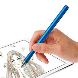 Eingabestift Touchscreen Pen Stift Präzisions mit Dünner Spitze P13 Blau
