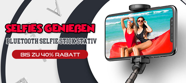 Selfie Sticks, Stangen für Handy