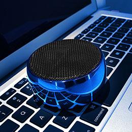 Bluetooth Mini Lautsprecher Wireless Speaker Boxen S25 Blau