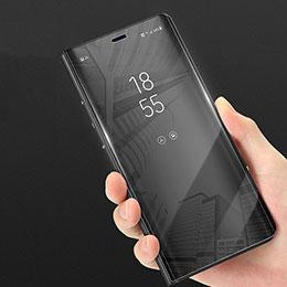 Handyhülle Hülle Kunststoff Schutzhülle Treibsand für Samsung Galaxy Note 8 Schwarz
