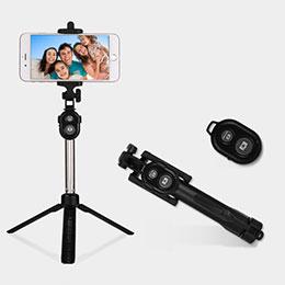 Selfie Stick Stange Bluetooth Teleskop Universal S24 Schwarz