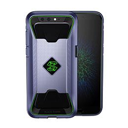 Silikon Schutzhülle Ultra Dünn Tasche 360 Grad für Xiaomi Black Shark Blau