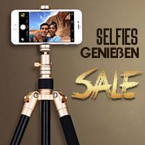 Selfie Sticks, Stangen für Handy