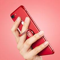 Fingerring Ständer Smartphone Halter Halterung Universal Rot