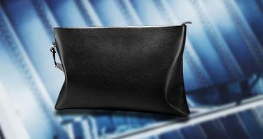 Handtasche Clutch Handbag Schutzhülle Leder