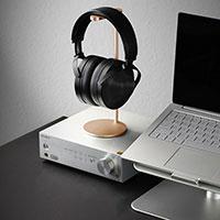 Universal Ständer Ohrhörer Headset Kopfhörer Stand H01 Gold