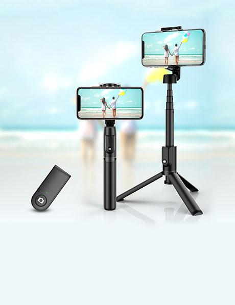 Selfie Stick Stativ - Versand nach Weltweit