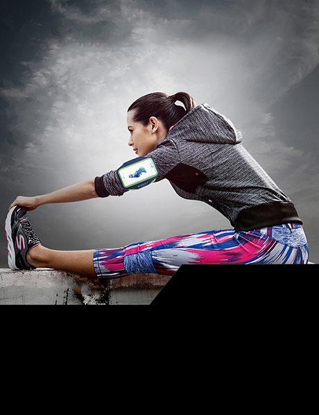 Jogging Sportarmband für Handy