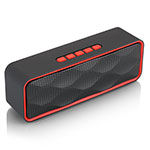 Bluetooth Mini Lautsprecher Wireless Speaker Boxen S18 Rot