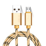 Kabel Micro USB Android Universal M01 Gold