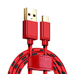 Kabel Type-C Android Universal T09 Rot