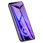 Schutzfolie Displayschutzfolie Panzerfolie Skins zum Aufkleben Gehärtetes Glas Glasfolie Anti Blue Ray für Xiaomi Mi 8 Screen Fingerprint Edition Klar
