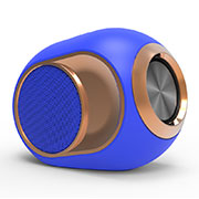 Bluetooth Mini Lautsprecher Wireless Speaker Boxen K05 Blau