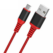 Kabel USB 2.0 Android Universal A06 Rot