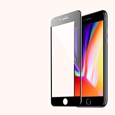 3D Schutzfolie Displayschutzfolie Panzerfolie Skins zum Aufkleben Gehärtetes Glas Glasfolie für Apple iPhone SE (2020) Schwarz