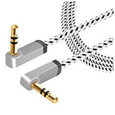 Audio Stereo 3.5mm Klinke Kopfhörer Verlängerung Kabel auf Stecker A13 Silber