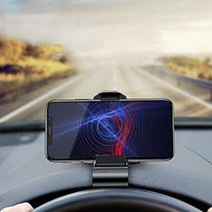 Auto KFZ Armaturenbrett Halter Halterung Universal AutoHalter Halterungung Handy T01 für Sony Xperia XA2 Plus Schwarz