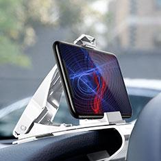 Auto KFZ Armaturenbrett Halter Halterung Universal AutoHalter Halterungung Handy T03 für Sony Xperia XA2 Plus Weiß