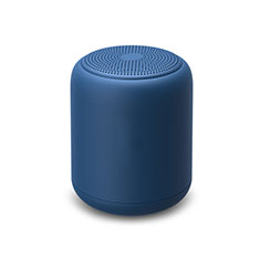Bluetooth Mini Lautsprecher Wireless Speaker Boxen K02 für Apple iPhone 11 Pro Blau