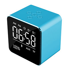 Bluetooth Mini Lautsprecher Wireless Speaker Boxen K08 für LG K62 Blau