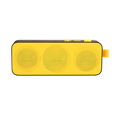 Bluetooth Mini Lautsprecher Wireless Speaker Boxen S12 für Apple iPhone 11 Pro Gelb