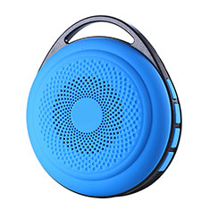 Bluetooth Mini Lautsprecher Wireless Speaker Boxen S20 für Sony Xperia L2 Hellblau
