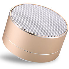 Bluetooth Mini Lautsprecher Wireless Speaker Boxen S24 für Oneplus 7 Pro Gold