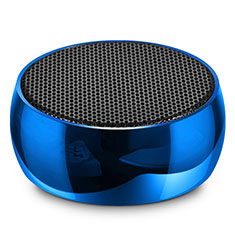 Bluetooth Mini Lautsprecher Wireless Speaker Boxen S25 für Oneplus 7 Pro Blau