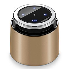 Bluetooth Mini Lautsprecher Wireless Speaker Boxen S26 für Nokia 8110 2018 Gold