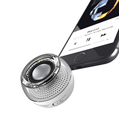 Bluetooth Mini Lautsprecher Wireless Speaker Boxen S28 Silber