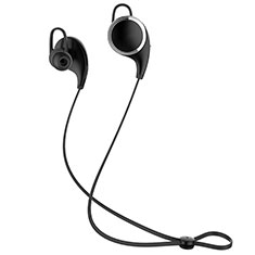 Bluetooth Wireless Stereo Kopfhörer Sport Ohrhörer In Ear Headset H42 für Huawei Honor View 20 Schwarz