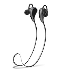 Bluetooth Wireless Stereo Ohrhörer Sport Kopfhörer In Ear Headset H41 für Nokia 9 PureView Grau