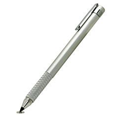 Eingabestift Touchscreen Pen Stift Präzisions mit Dünner Spitze P14 Silber
