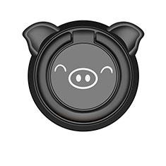 Fingerring Ständer Magnetische Smartphone Halter Halterung Universal S20 für Xiaomi Mi 9 Pro Schwarz