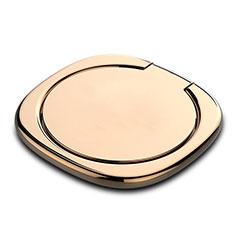 Fingerring Ständer Magnetische Smartphone Halter Halterung Universal Z07 für LG L Bello 2 Gold