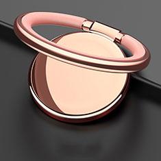 Fingerring Ständer Magnetische Smartphone Halter Halterung Universal Z09 für LG L Bello 2 Gold
