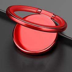 Fingerring Ständer Magnetische Smartphone Halter Halterung Universal Z09 für LG L Bello 2 Rot