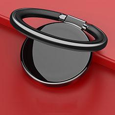 Fingerring Ständer Magnetische Smartphone Halter Halterung Universal Z09 für Google Pixel 3 Schwarz
