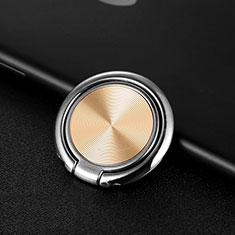 Fingerring Ständer Magnetische Smartphone Halter Halterung Universal Z11 für Sony Xperia Z3 Compact Gold