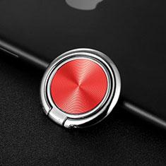 Fingerring Ständer Magnetische Smartphone Halter Halterung Universal Z11 für LG L Bello 2 Rot