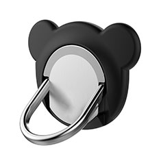 Fingerring Ständer Magnetische Smartphone Halter Halterung Universal Z14 für Xiaomi Mi 9 Pro Schwarz