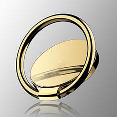 Fingerring Ständer Magnetische Smartphone Halter Halterung Universal Z16 für LG L Bello 2 Gold